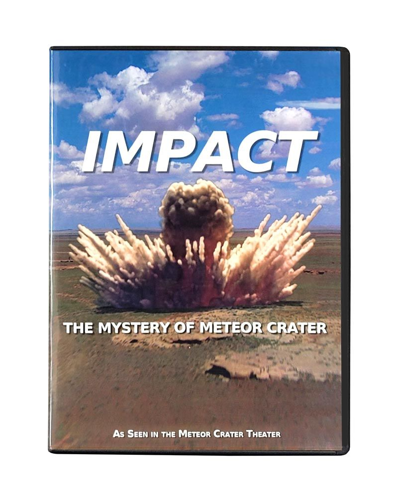 """Impact: The Mystery of Meteor Crater"" Movie – DVD"