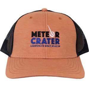 Official Meteor Crater Trucker Style Hat